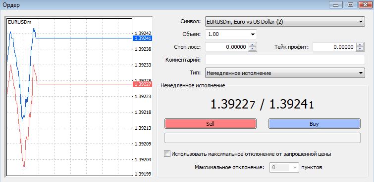 Ордера Форекс - marketorder_mt41
