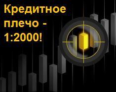 Впервые на Forex - кредитное плечо 1:2000 - EXNESS-leverage-1-2000