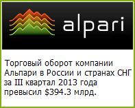 Новые финансовые достижения Альпари - Alpari-new-financial-achievements