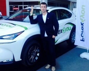 Лояльный клиент Forex4you поедет домой на машине! - Lojalnyj-klient-Forex4you_1-300x238